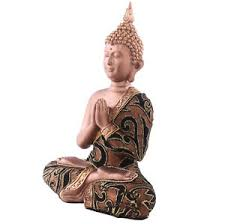 meditating fabric effect thai buddha ornament figure statue buddah