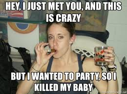 This Is Crazy Meme - hey i just met you and this is crazy but i wanted to party so i