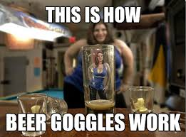 Free Funny Memes - how beer goggles work funny meme funny memes