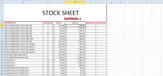 Inventory Management Spreadsheet Axnosis Com