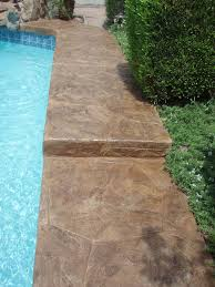 22 best staining around pools images on pinterest concrete pool