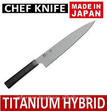 titanium kitchen knives knife kitchen titanium hybrid kitchen knife lightweight