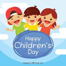 children s happy childrens day design vector free download