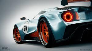 gulf racing wallpaper virtuelle le mans concept cars lmp1 projektile aus dem computer