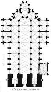 Amiens Cathedral Floor Plan Saint Etienne Caen France Begun 1067 Architektura Rzuty