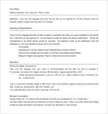 resume templates word fascinating hybrid resume template 10 hybrid resume format