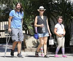 dave grohl photos photos dave grohl and family are spotted out