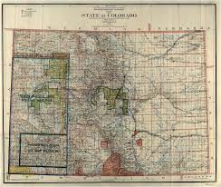State Map Of Colorado united states update colorado u0027s admission on the 150th