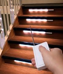 8er set stairway lighting staircase lights led remote