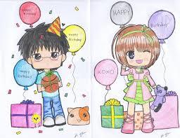 card invitation samples anime birthday card maker images
