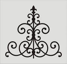Home Stencil Catchy Collections Of Scroll Stencil Designs Perfect Homes