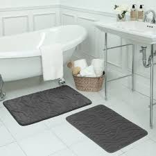 3 Piece Bathroom Rug Set by 5 Pc Bath Rug Set Tags 4 Piece Bathroom Rug Set Grey And Yellow