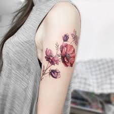 amazing flower tattoo design ideas 5 lucky bella