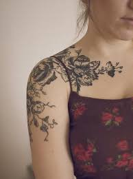 best 25 rose on shoulder tattoo ideas on pinterest rose