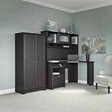 Office Desk With Hutch Storage Altra Chadwick Collection Corner Desk Virginia Cherry Office