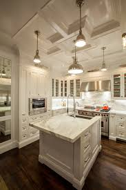 like the thick island slab and the marble backsplash kitchen
