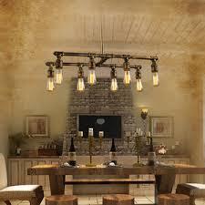 Lighting Fixtures Industrial by 6 Light Uplight Industrial Work Lights Chandelier Light