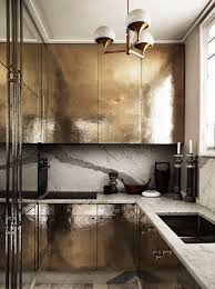 metal kitchen furniture what s 8 beautiful gold brass and hammered metal kitchens
