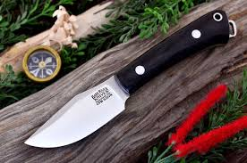 Bark River Kitchen Knives by Trailmate S35vn Black Canvas Micarta 229 95 Jpg