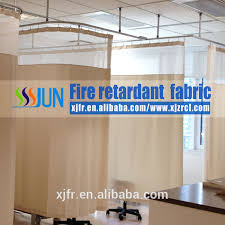 customised fire retardant hospital curtains medical partition
