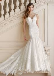 dress wedding sequin tulle and lace trumpet wedding dress 217213 mabel