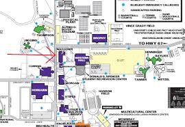 University Of Illinois Map Western Illinois Macomb Campus Image Gallery Hcpr