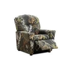Youth Recliner Chairs Child Size Mossy Oak Recliner Cole S Furniture Store Jasper Ohio
