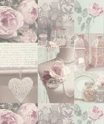 beautiful shabby chic wallpaper and wall coverings the shabby 9 50 mannequin and roses wallpaper