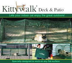 Patio Enclosure Systems Kittywalk Deck And Patio Cat Enclosure Kittywalk Pet Enclosure
