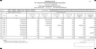 contoh surat pernyataan format a1 formulir direktorat jenderal pajak