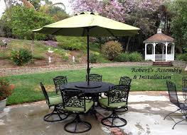 contemporary outdoor patio with sams club dining table and swivel