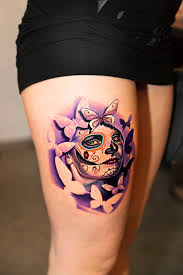 female thigh tattoos 9 best cougar tattoos images on pinterest tattoo designs tattoo