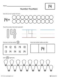 number 14 practice worksheet myteachingstation com