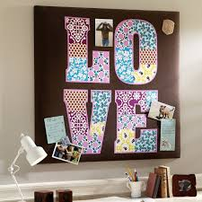 Diy Study Desk Bedroom Diy Bedroom Wall Decor With Framed Wall Letter
