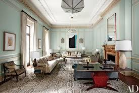 Posh Home Interior Steven Gambrel Revitalizes A Georgian Style Mansion In Old