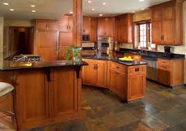 Arts And Crafts Home Interiors Huxley Shaker Style Kitchen Cabinets In A Dark Cherry Henna Finish
