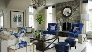 blue living room chairs morgan harrison home living rooms wingback chairs blue