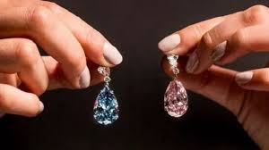 diamond earrings for sale diamond earrings sell for world record 57 4m news