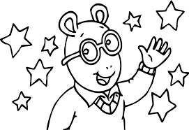 arthur coloring pages pbs happy birthday banner arthur birthday