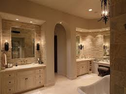 cool bathroom color schemes by affixing dark and light images