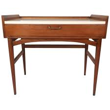 Small Mid Century Desk Small Mid Century Modern Desk Or Vanity By American Of