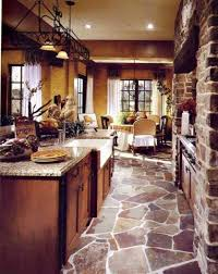Tuscan Style Dining Room Pretty Center Island Tuscan Kitchen Design Ideas Two High Chairs