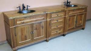 Barnwood Bathroom Vanity Barnwood Bathroom Vanity Rustic Vanity A Reclaimed Bathroom