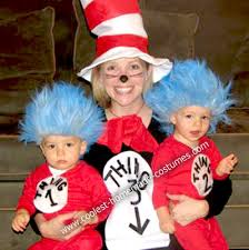 Cat In The Hat Costume Cool Homemade Cat In The Hat Costume Pregnant Halloween Costumes