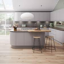 light grey kitchen magnet luna matt light grey kitchen luna cashmere kitchen style