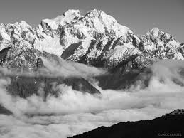 Mountains Tutoko B W New Zealand Mountain Photography By Jack Brauer