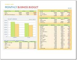 company budget template business template