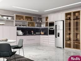 Famosos Cozinha Planejada Mezzo Bianco - Lojas Mirtes #NG64