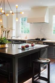 kitchen islands black large black kitchen island with black countertops transitional