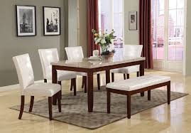 white marble top dining table set white marble top walnut finish 7 piece dining table set